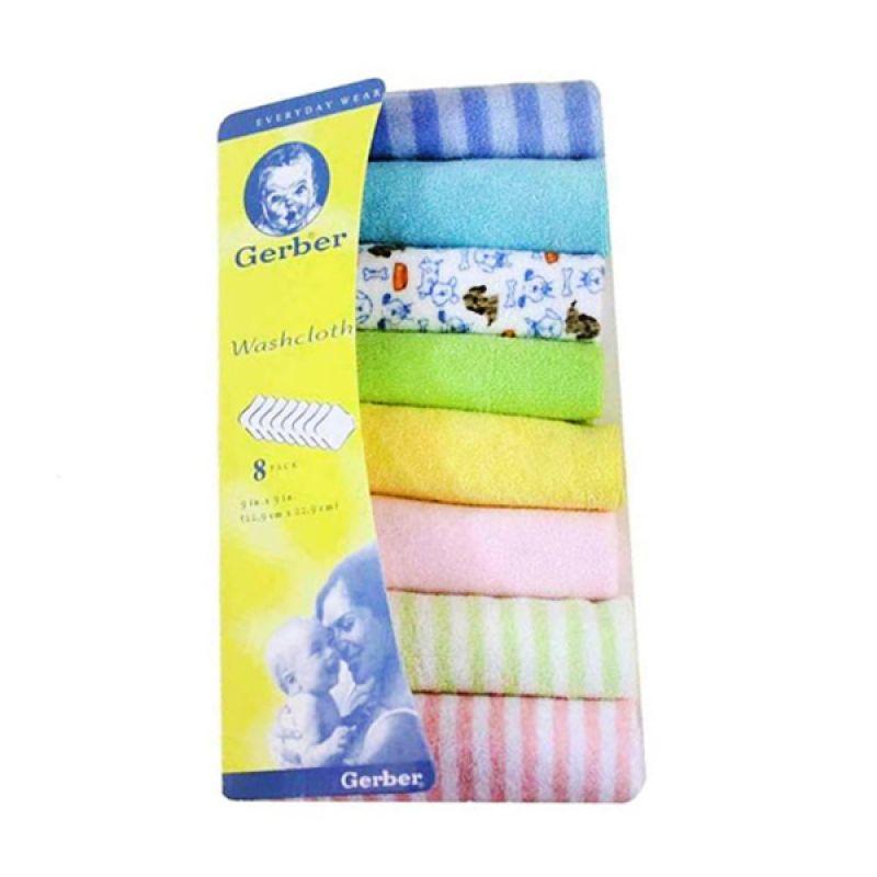 Gerber Washcloth Saputangan Handuk [Isi 8 Pcs]