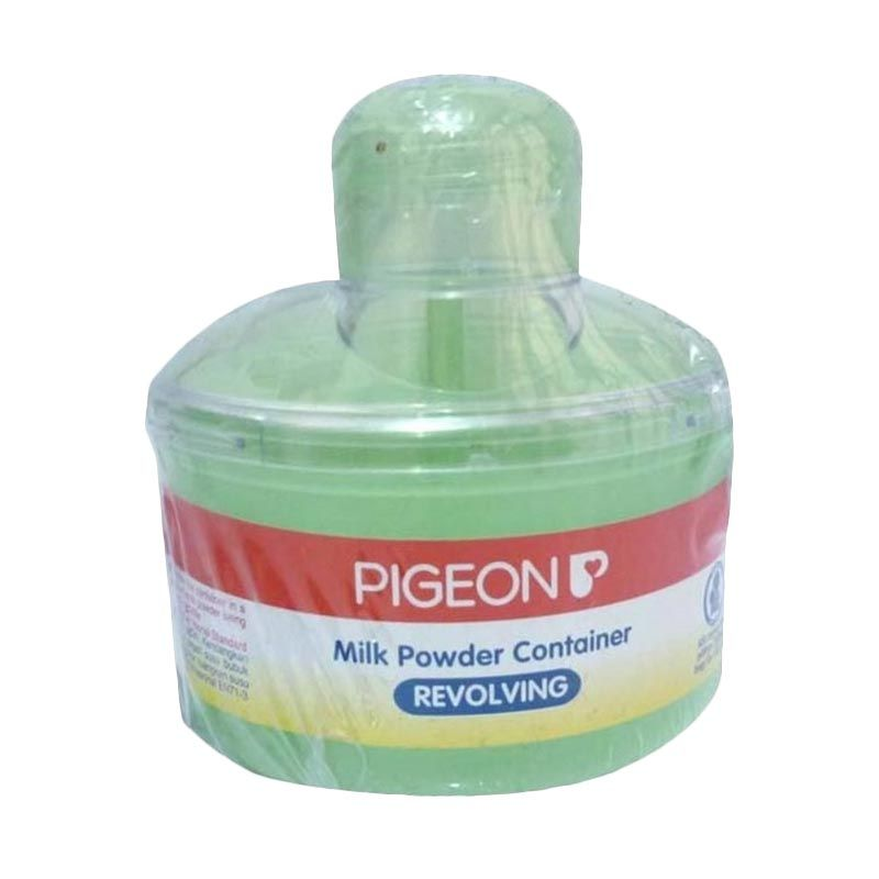 Pigeon Revolving Hijau Kontainer Susu