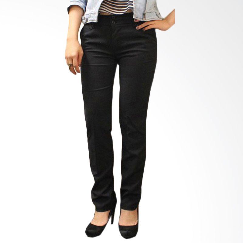 Adore Basic Black Celana Panjang Wanita