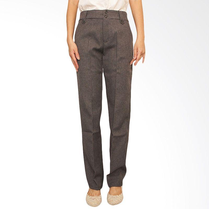Adore Basic Grey Celana Panjang Wanita