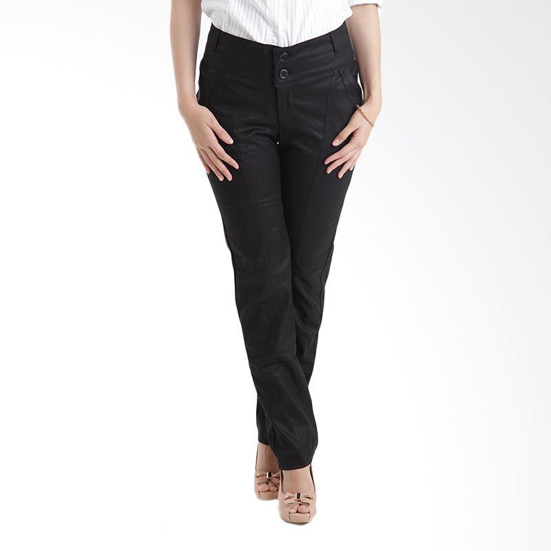 Adore Denny Hitam Celana Panjang Wanita