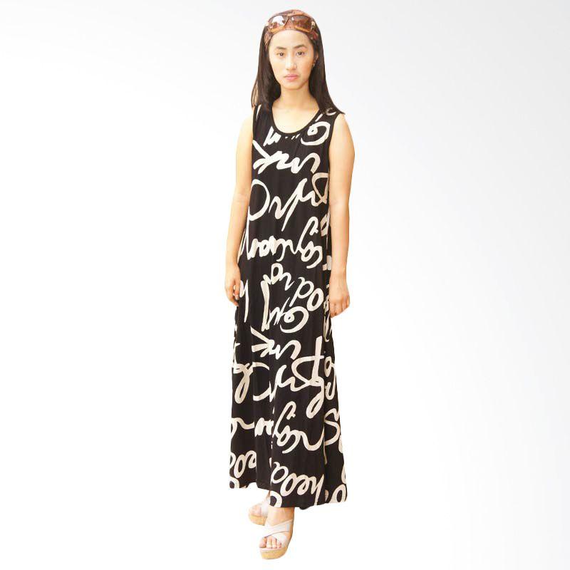 Adore dress panjang latin Hitam