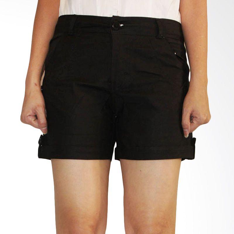 Adore Black Hotpants Celana Wanita
