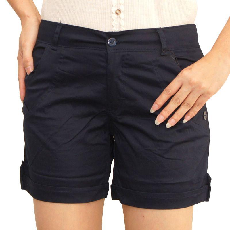 Jual Adore Hotpant Navy Blue Celana Pendek Wanita Online