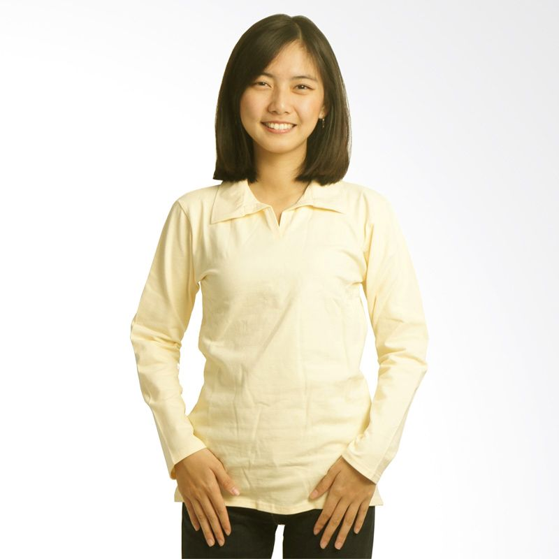 Adore Kuning Kaos Polo Wanita