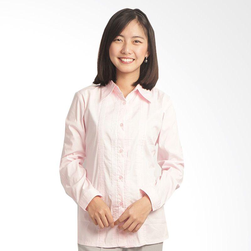 Adore LSL Pink Muda Baju Kerja Wanita