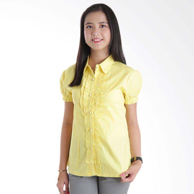 Adore SSM Yellow Kemeja Wanita