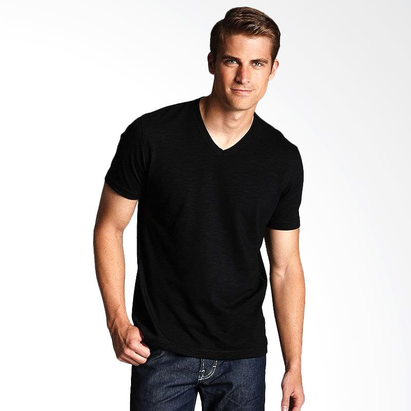Adore Muscle V-Neck Black