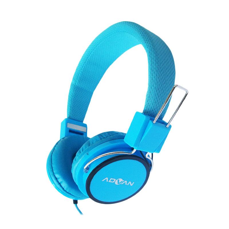 Advan MH-001 Biru Headphone