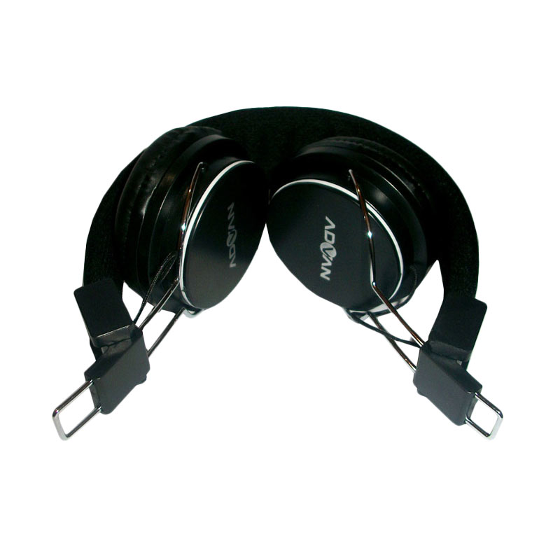 Advan MH-001 Hitam Headphone