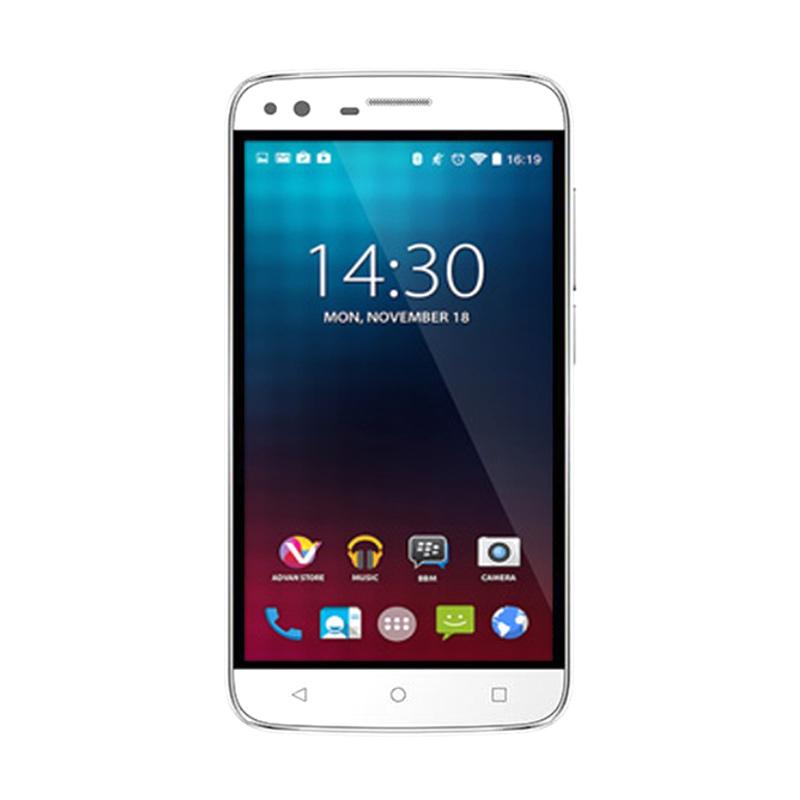 Advan Vandroid I5 Smartphone - Putih [8GB/ 1GB/ 4G LTE]