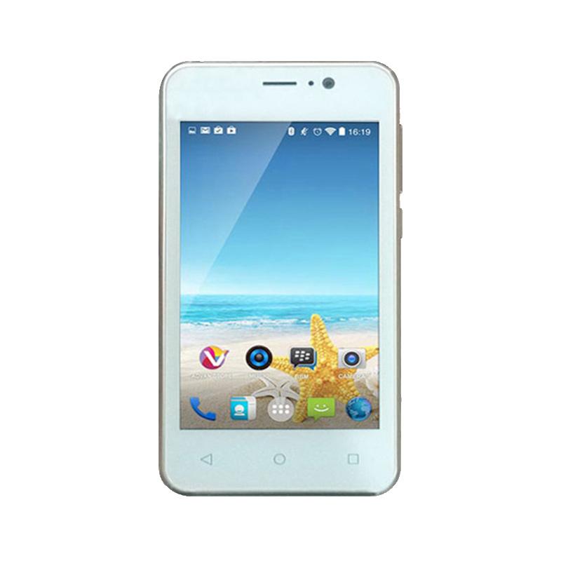 Advan Vandroid S4F Smartphone - Putih [8 GB]
