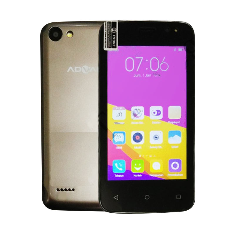 Advan Vandroid S4T Smartphone - Gold [4 GB]