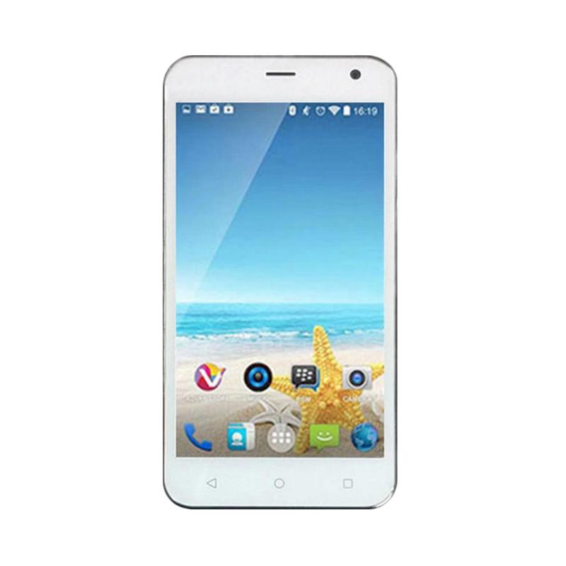 Advan Vandroid S50D Smartphone - Putih [8 GB]