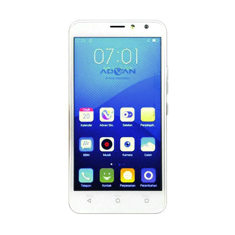 Advan Vandroid S5E NXT Smartphone - White [8GB/ 1GB]