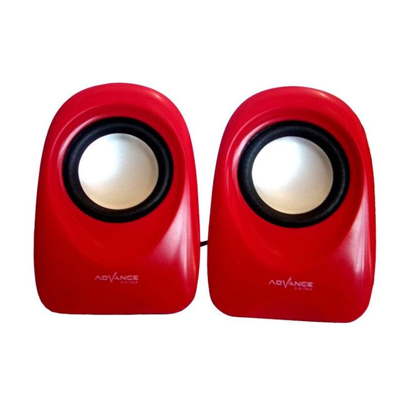 Advance Duo-01 Merah USB Speaker