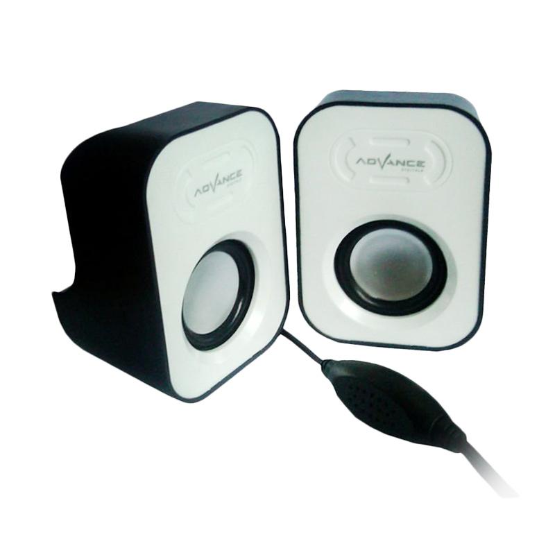Advance Duo-026 White Speaker USB