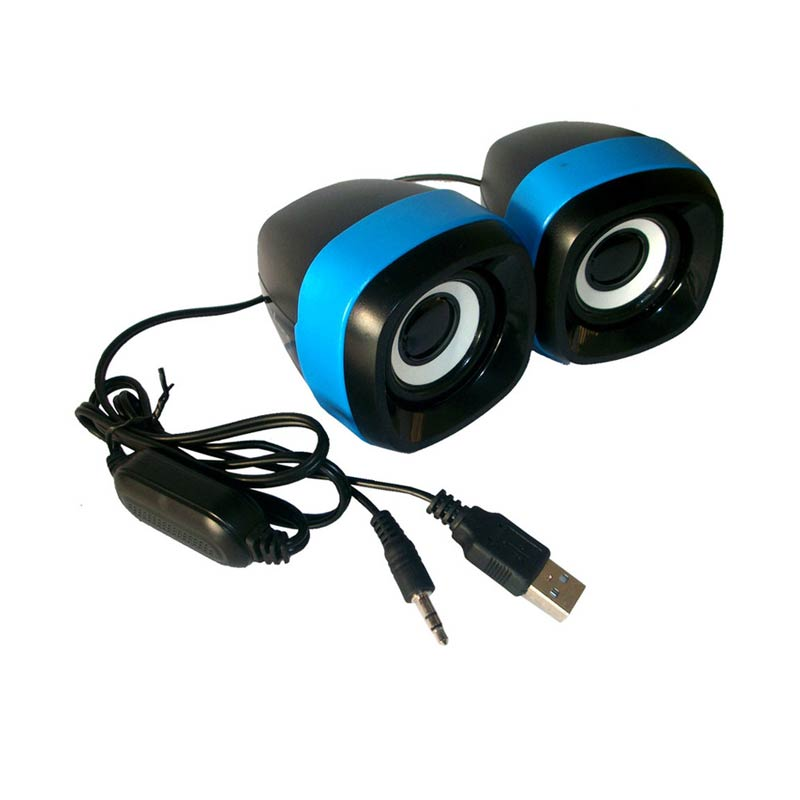 Advance Duo-040 Biru Speaker USB