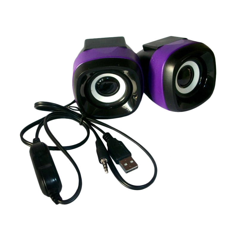 Advance Duo-040 Ungu Speaker USB