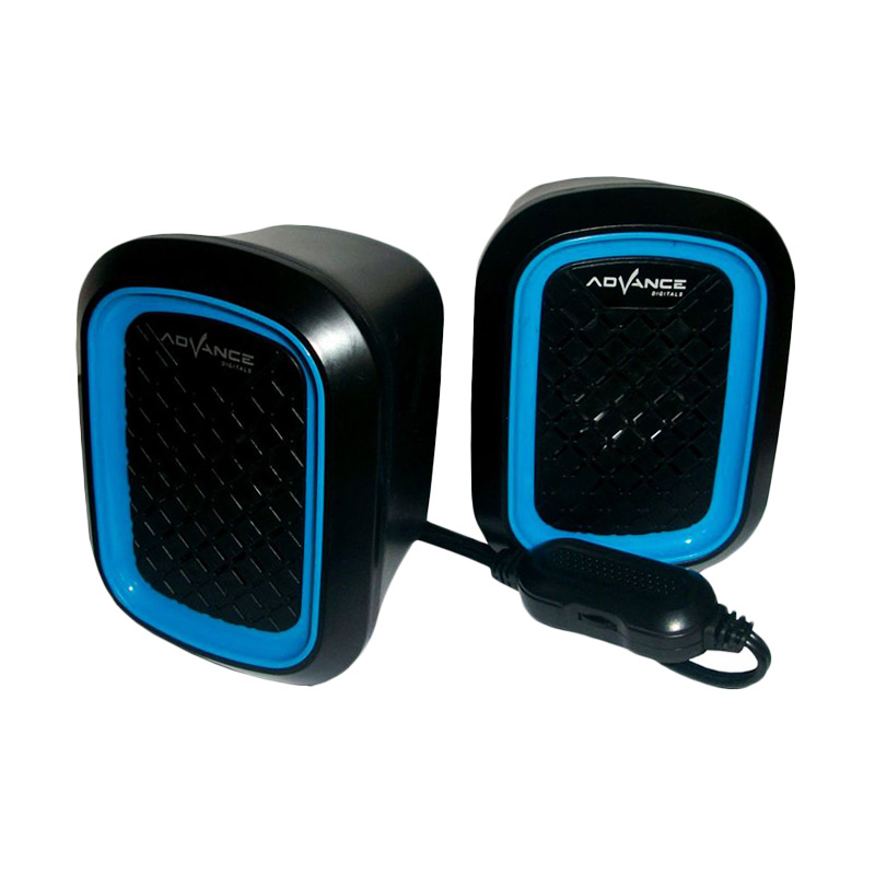Advance Duo-050 Biru Speaker USB