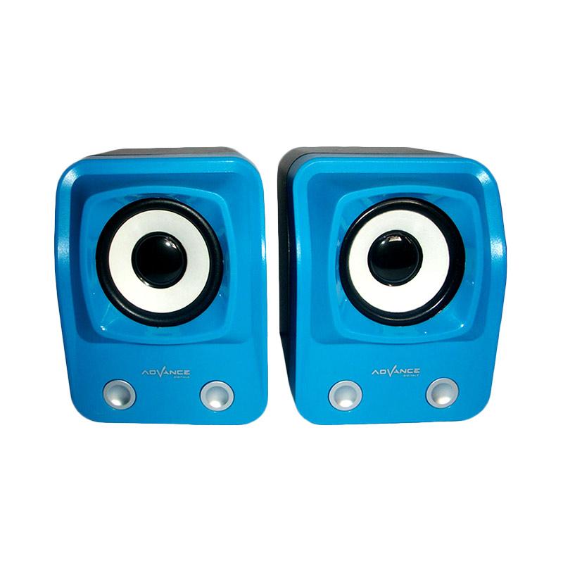 Advance Duo-060 Biru Speaker USB