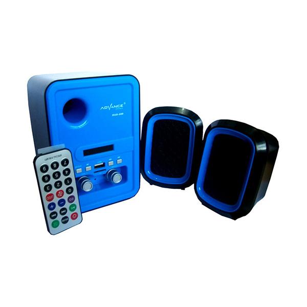 Advance DUO-200 Speaker Multimedia with Remote - Biru