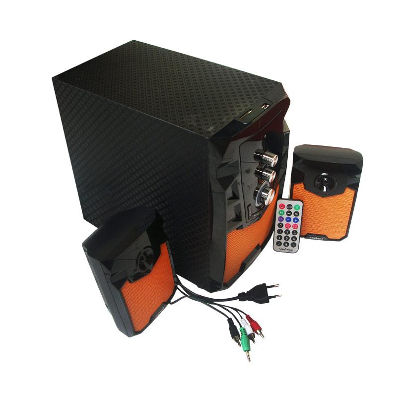 Advance M310BT Orange Speaker Bluetooth plus Remote