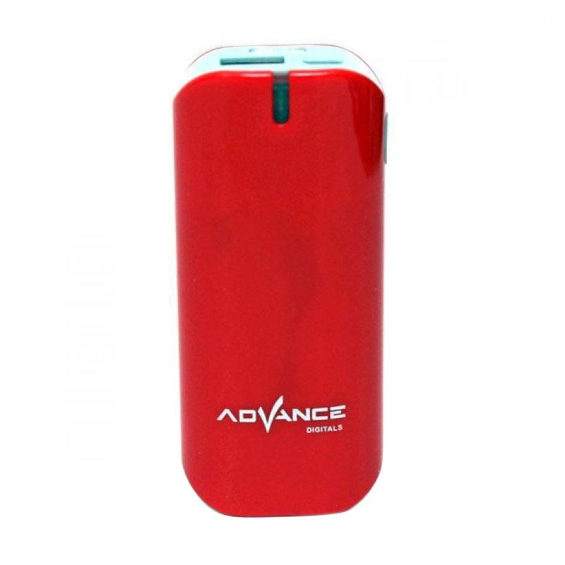 Advance S21 Red Powerbank [5200 mAh]