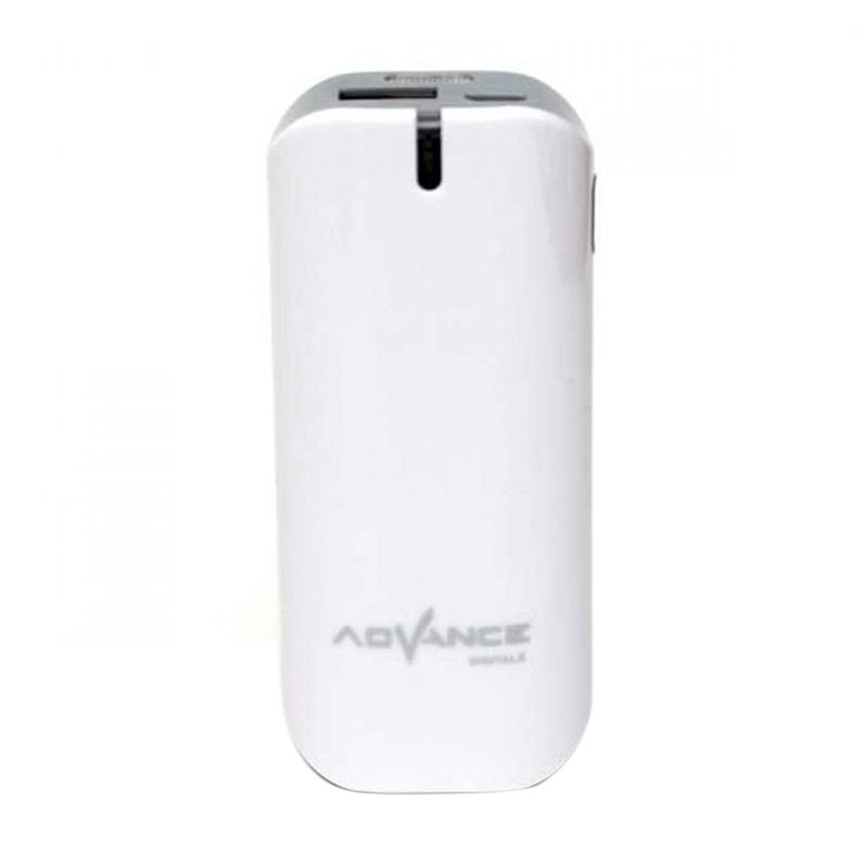 Advance S21 Powerbank - White [5200 mAh]