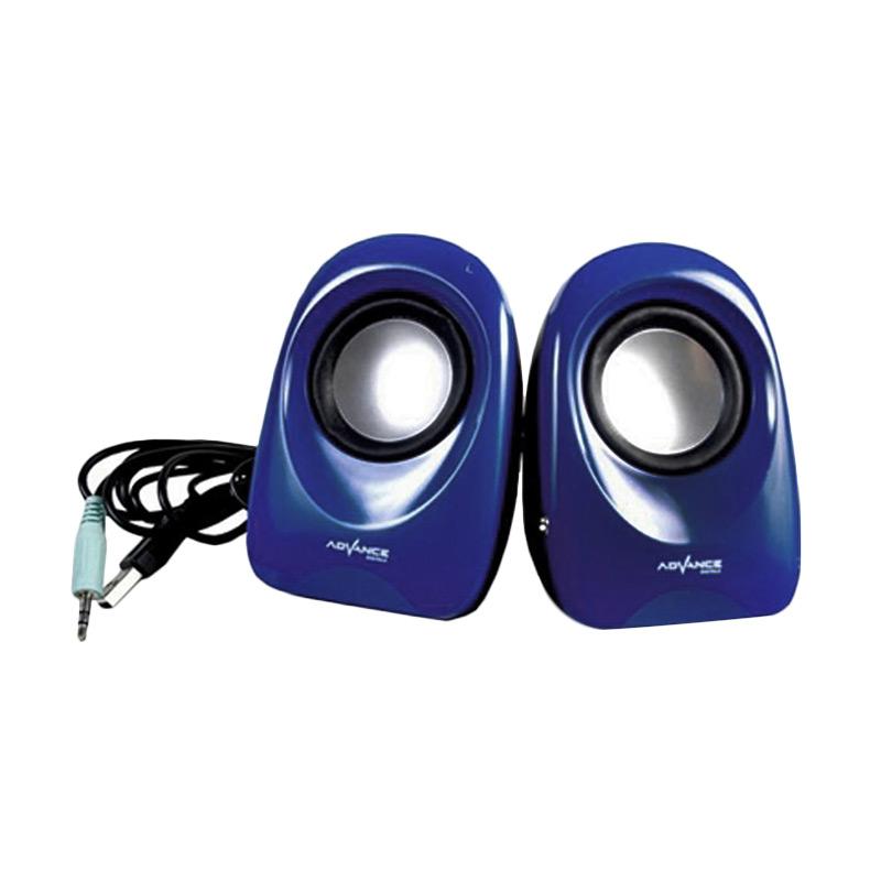 Advance Duo-01 Speaker USB - Biru