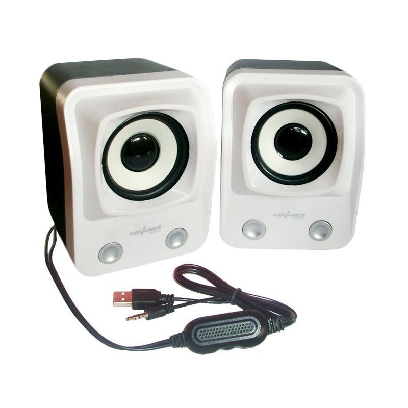 Advance Duo-060 Putih Speaker USB