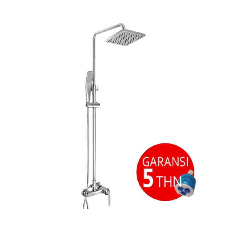 harga AER Mixer Shower Set (Wall+Hand Shower) MS-4 Panas Dingin Kran Air Blibli.com