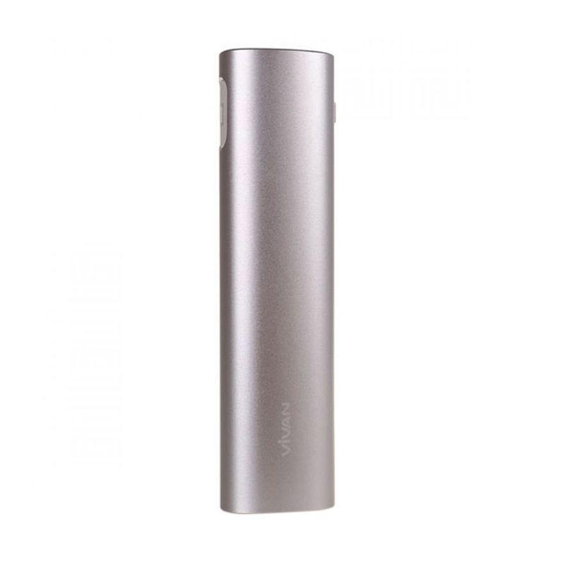 Vivan M-12 Silver Powerbank [12000 mAh/Original/Garansi Resmi]