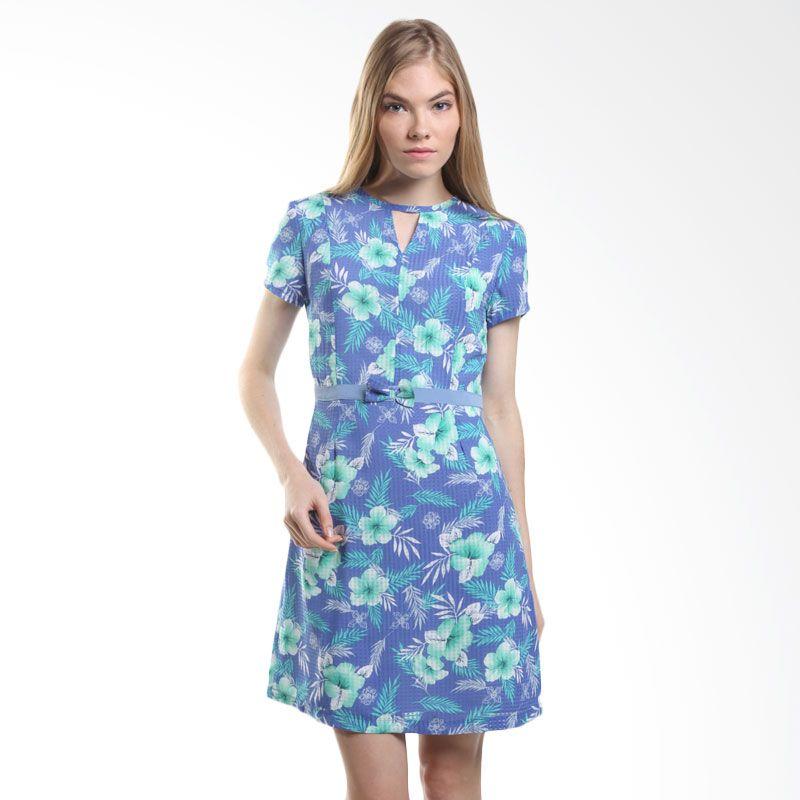 Agatha Georgia 4432.D Blue Mini Dress