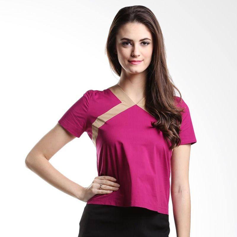 Agatha Valiani 4422.B1 Pink Atasan Wanita