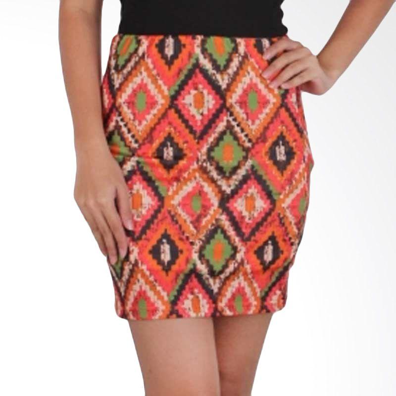 Agree To Shop Anthra Skirts Tangerine