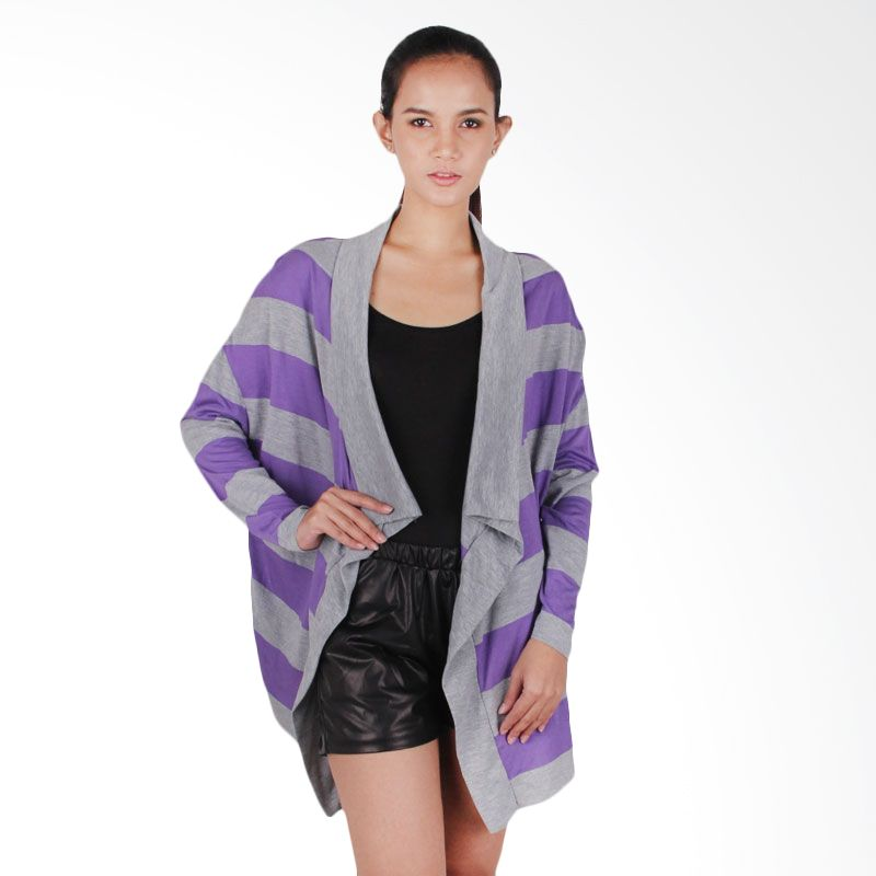 Agree To Shop Jackie Outerwear Purple