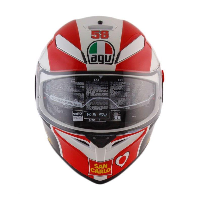AGV K3 SV SIMONCELLI REPLICA Helm Full Face