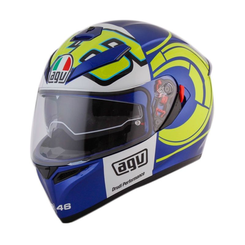 AGV K3 SV TOP WINTER TEST 2012 BLUE Helm Full Face