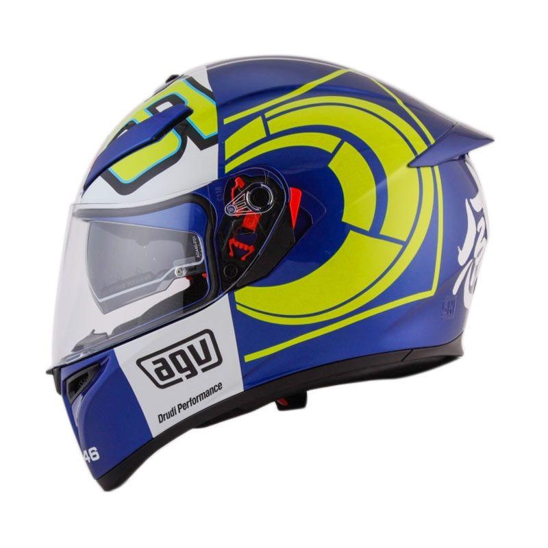 Jual Agv K3 Sv Top Winter Test 2012 Blue Helm Full Face Online Maret 2021 Blibli
