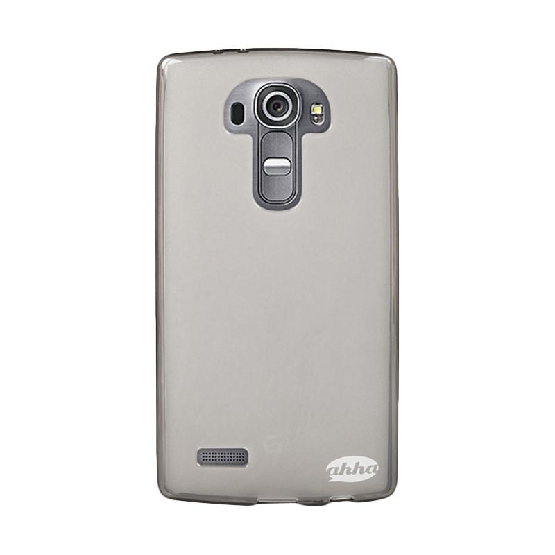 Spek Harga Ahha Moya Gummishell Misty Softcase Casing for LG G4 - Tinted Black Terbaru