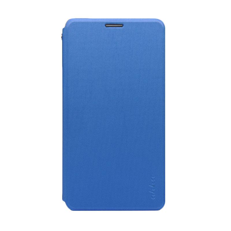 harga Ahha Norris Lagoon Flip Cover Casing for Galaxy Note 4 - Blue Blibli.com