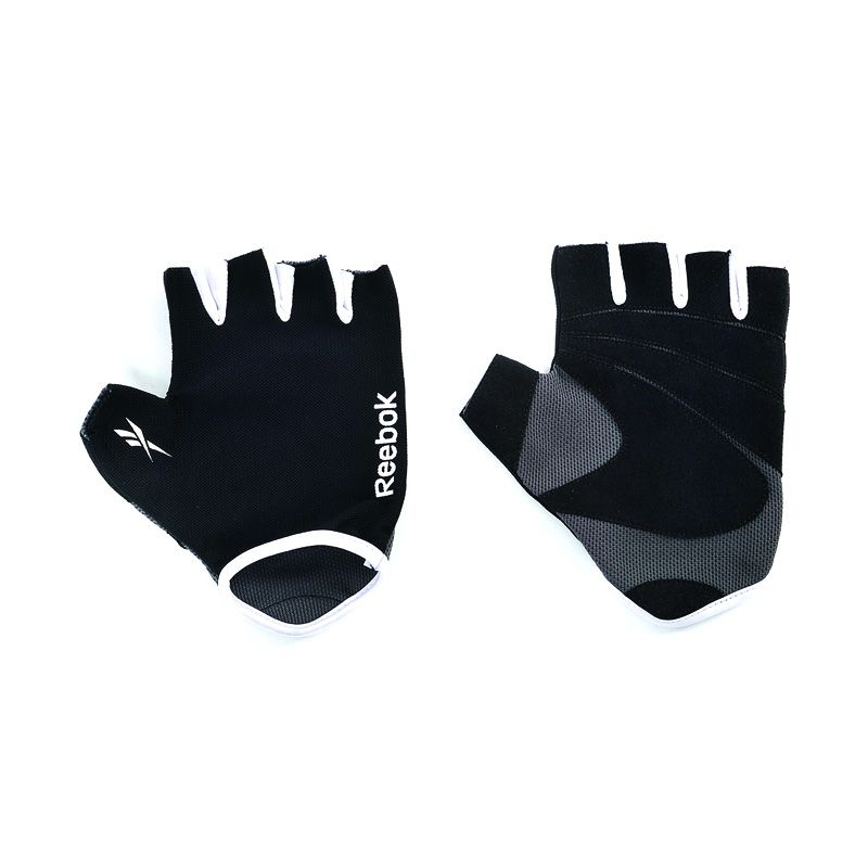 Reebok Black Fitness Gloves Sarung Tangan olah raga