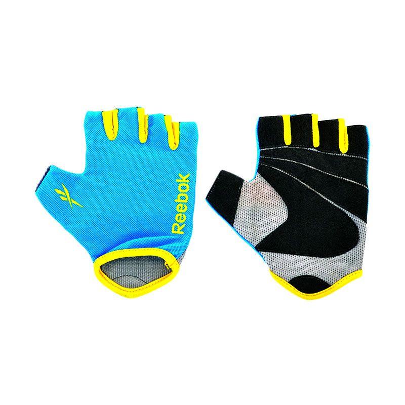 Reebok Cyan Fitness Gloves Sarung Tangan olahraga