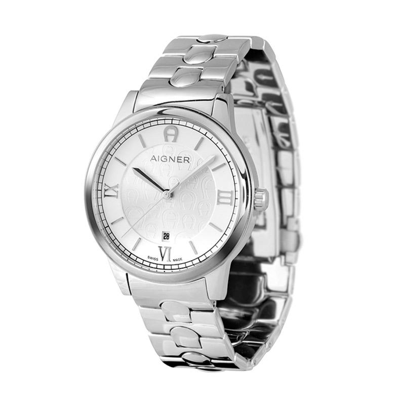 Aigner Monopoli A24048 Stainless Jam Tangan Pria - Silver bawah 05c68dd52c