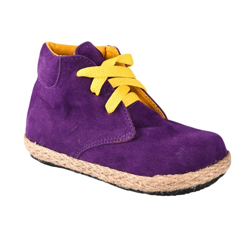Aiko Sakura Shoes Caleb Sepatu Anak Laki-Laki - Purple Yellow