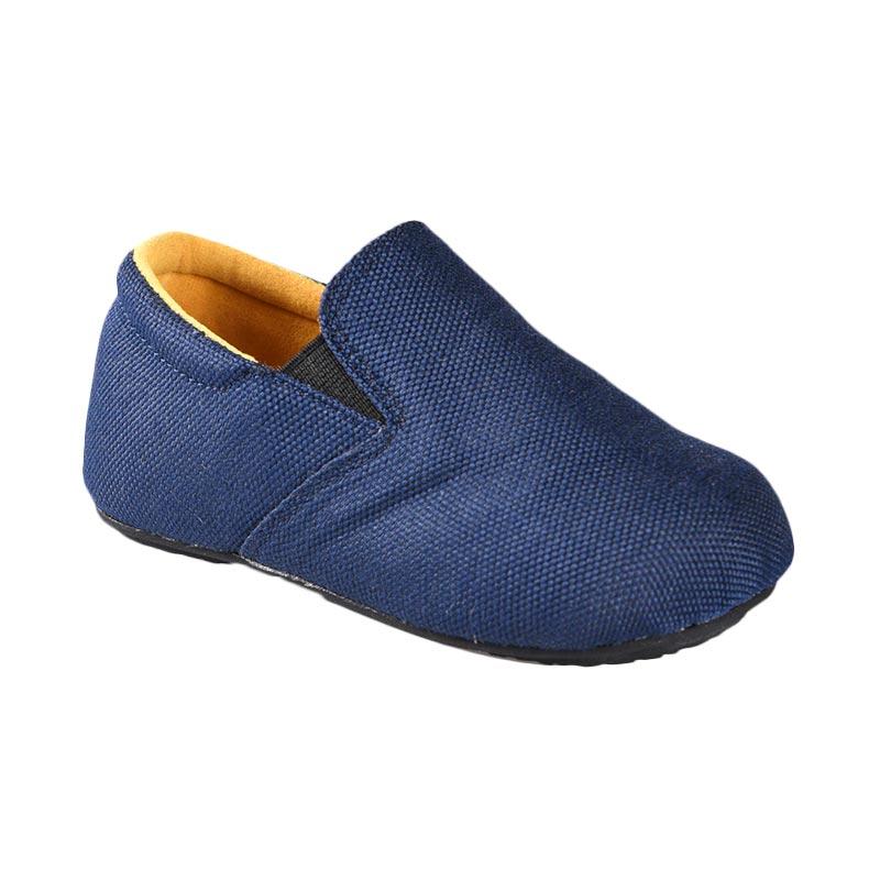 Aiko Sakura Shoes Haven Sepatu Anak Laki-Laki - Blue Yellow
