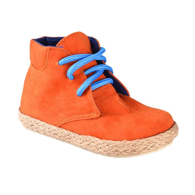 Aiko Sakura Shoes Kenji Sepatu Anak Laki-Laki - Orange