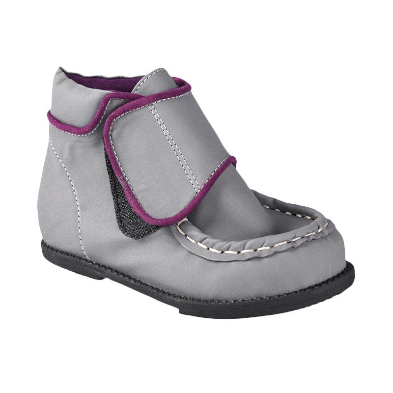 Aiko Sakura Shoes Rielle Sepatu Anak Laki-Laki - Grey Purple
