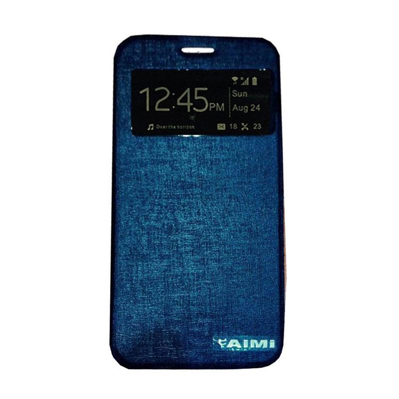 harga Aimi Flipcover Casing for Samsung Galaxy A3 A310 - Biru Tua Blibli.com